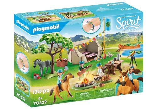 Playmobil Spirit Riding Free Wakacyjny kemping 4+ 70329