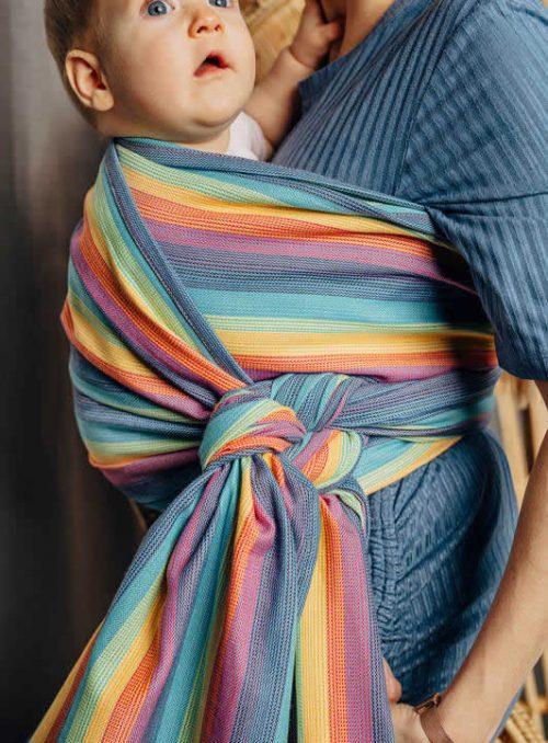 Lenny Lamb chusta do noszenia dzieci tkana splot skośno-krzyżowy rozm S (4,2m) Luna