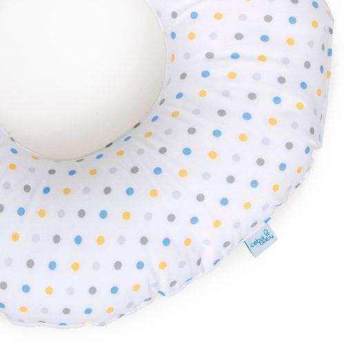 Koło poporodowe poduszka poporodowa oponka Ceba Baby niebieski żółty