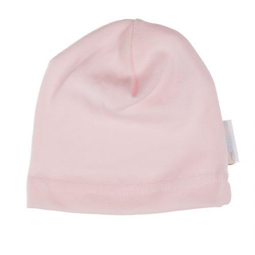 Ewa Klucze czapka niemowlęca smerfetka Family różowa 56