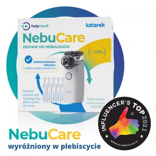 NebuCare zestaw do Nebulizacji Niemowląt i Dzieci HeplMedi