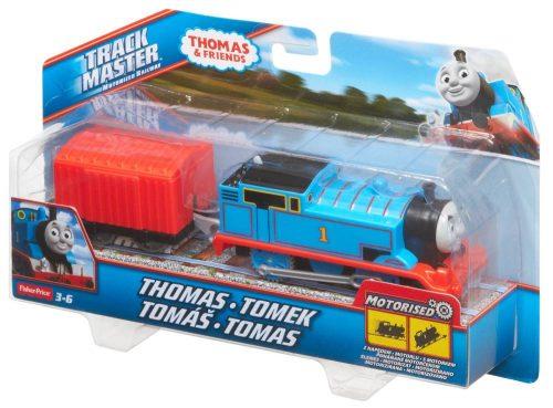 Tomek i przyjaciele Trackmaster Pociąg Thomas z wagonikiem BML06 BMK87
