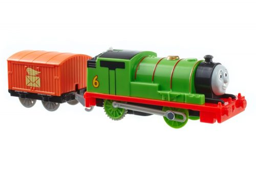 Tomek i przyjaciele Trackmaster Pociąg Percy z wagonikiem BML07 BMK87