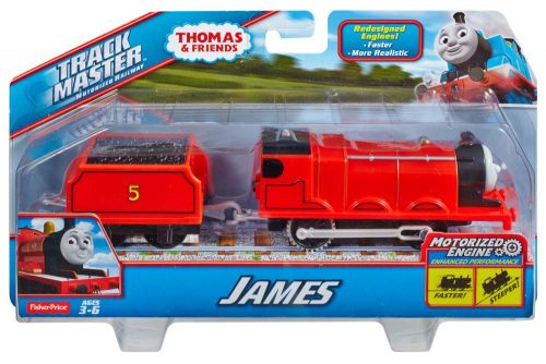 Tomek i przyjaciele Trackmaster Pociąg James z wagonikiem BML08 BMK87