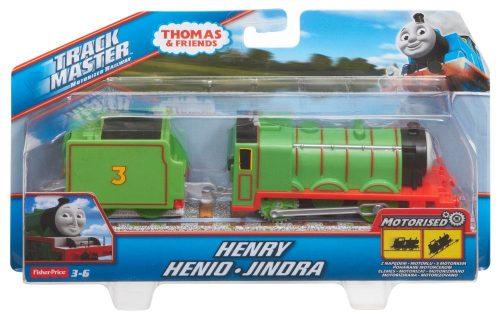 Tomek i Przyjaciele lokomotywa z napędem + wagonik BMK88 Henry BML10