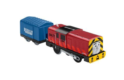 Tomek i Przyjaciele lokomotywa z napędem + wagonik BMK88 Yong Bao DVF81