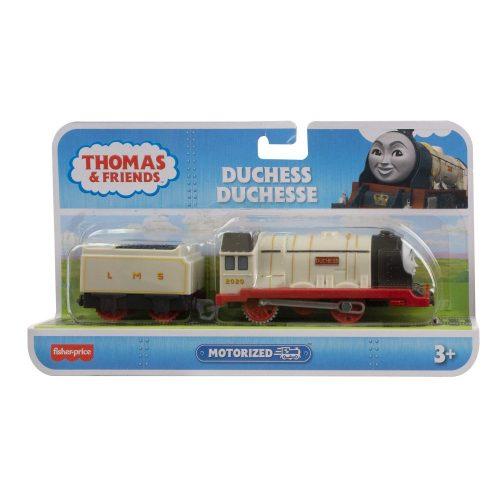 Tomek i Przyjaciele lokomotywa z napędem + wagonik BMK88 Duchess GYV97