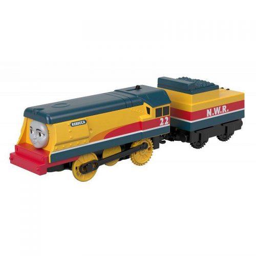 Tomek i przyjaciele Trackmaster Pociąg Rebecca z wagonikiem GDV30 BMK87