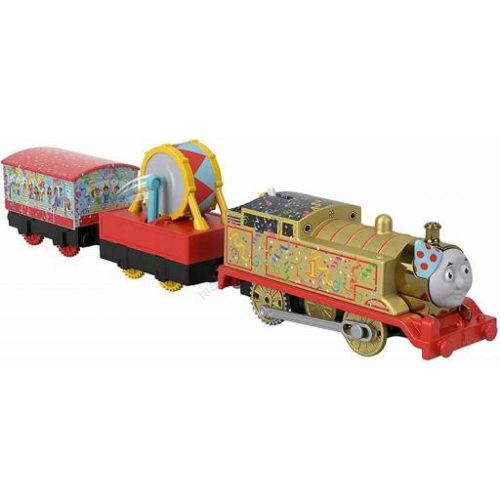 Tomek i Przyjaciele TrackMaster lokomotywa z napędem Golden Thomas GHK79 BMK93