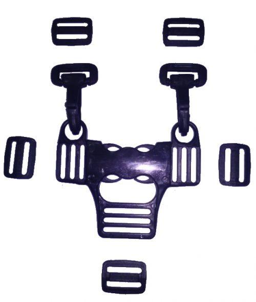 Klamra pasów bezpieczeństwa do szelek wózka spacerowego krzesełek do karmienia innych