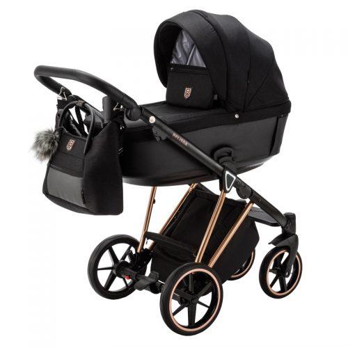 Adamex Belissa Special Edition wózek głęboko spacerowy zestaw 2w1 kolor PS-571