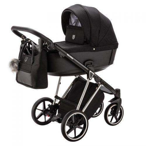 Adamex Belissa Special Edition wózek głęboko spacerowy zestaw 2w1 kolor PS-570