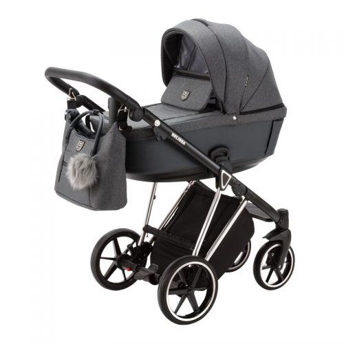 Adamex Belissa Special Edition wózek głęboko spacerowy zestaw 2w1 kolor PS-595
