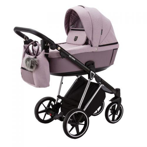 Adamex Belissa Special Edition wózek głęboko spacerowy zestaw 2w1 kolor PS-614