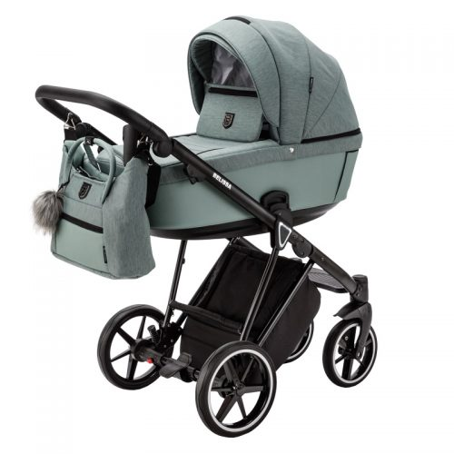 Adamex Belissa Standard wózek głęboko spacerowy zestaw 2w1 kolor PS-63