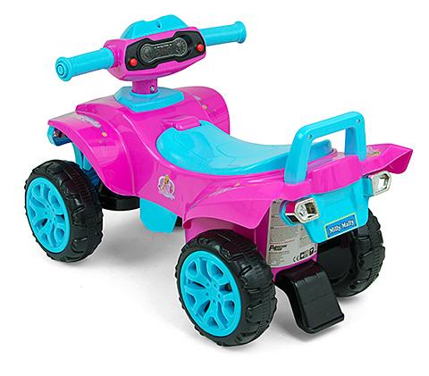 Pchacz jeździk dla dzieci Quad Monster różowy 12+ MIlly Mally