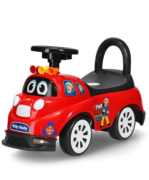 Pojazd jeździk pchacz dla dziecka straż pożarna Tipi Firemen 18m+