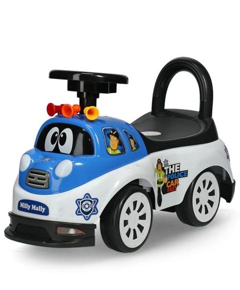 Pojazd jeździk pchacz dla dziecka Pilicja Tipi Police 18m+