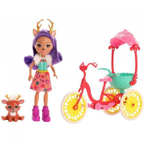 Enchantimals Lalka Danessa Deer i Jelonek Sprint GJX30