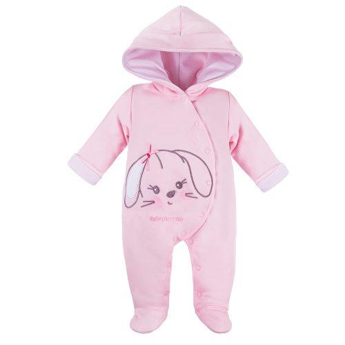 Ewa klucze pajac ocieplany Run&Fun niemowlęcy jesień wiosna 62 różowy