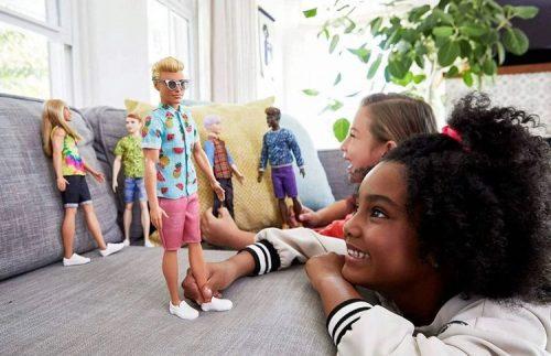 Barbie stylowy Ken lalka GRB04