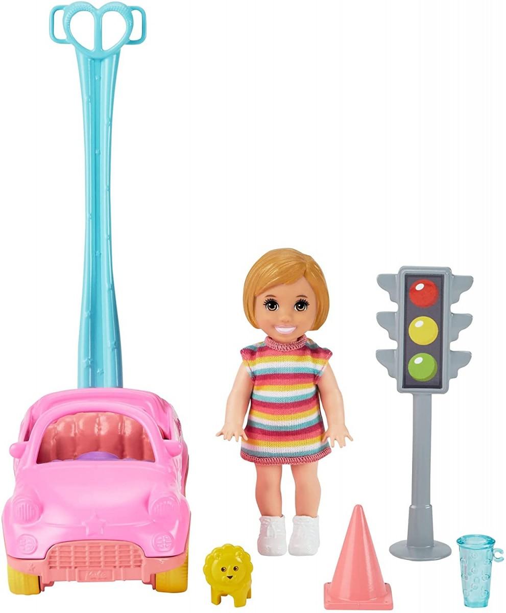 Samochód z lalką Skipper Barbie GRP17