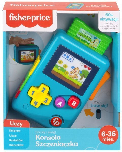 Interaaktywna zabawka Fisher Price linkimals retro konsol aszczeniaczka HBC88