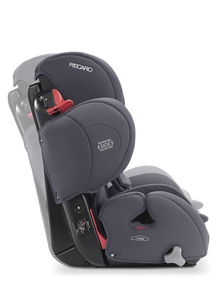 Fotelik samochodowy Recaro Young Sport Hero 9-36 kg kolor Select Deep Black