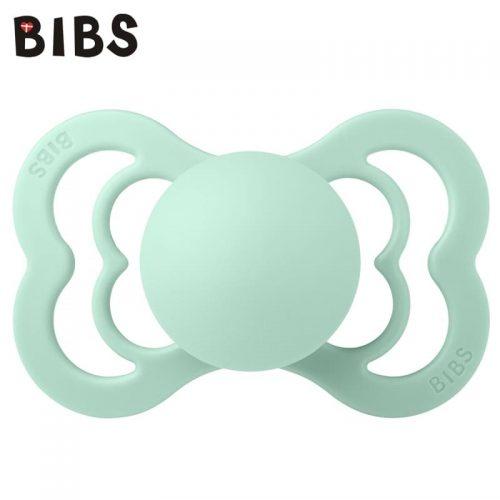 Smoczek Suprime z naturalnego kauczuku Bibs S 0-6m  lateksowy Nordic Mint