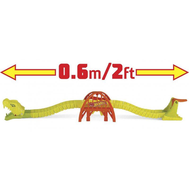 Hot Wheels GTT70 Creatures - Zestaw Żmijowy Most