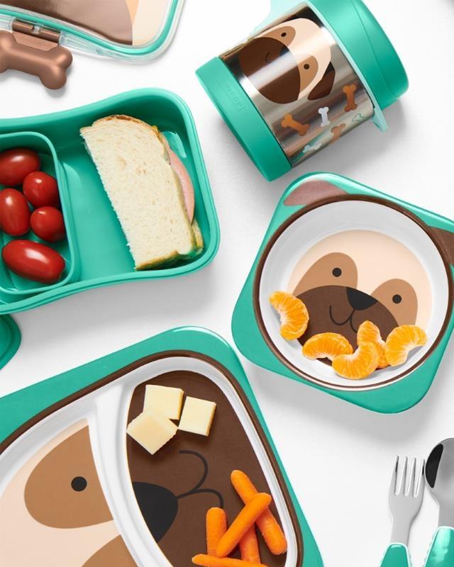 Termos obiadowy ze staali nierdzewnej Skip Hop Zoo Mops