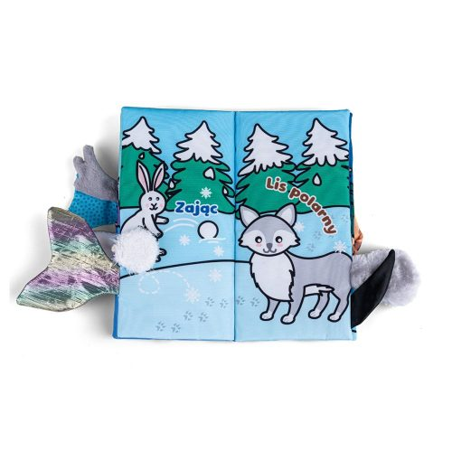 Książeczka gryzak Jolly baby zwierzaki polarne
