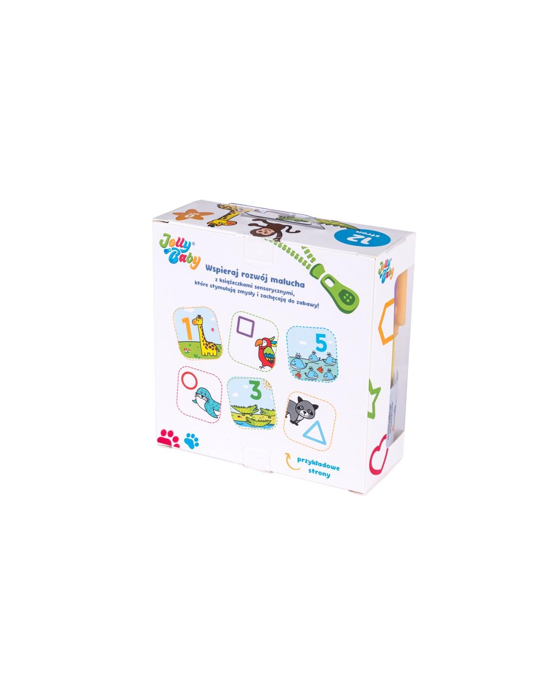 Książeczka materiałowa gryzak Jolly baby zwierzęta