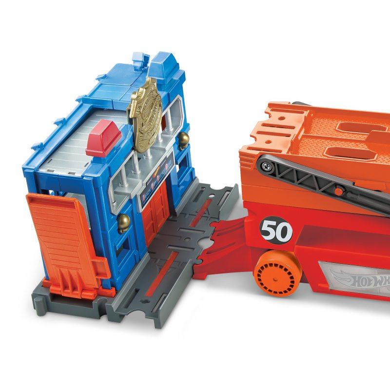 Transporter Hot Wheels samochód do przewozu aut GHR48