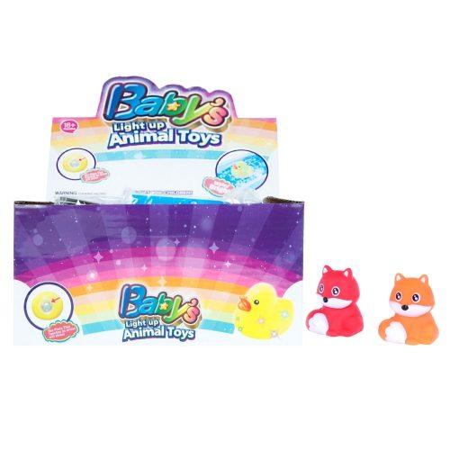 Świecący lisek zabawka dla dziecka 5 cm