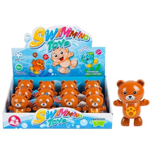 Nakręcany miś zabawka dla dziecka 8 cm