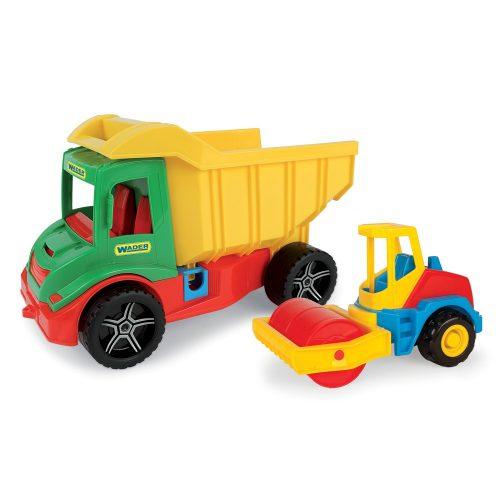 Multi Truck Wader 32242 wywrotka z walcem