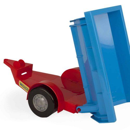 Traktor z przyczepą zestaw Wader 35002 39cm