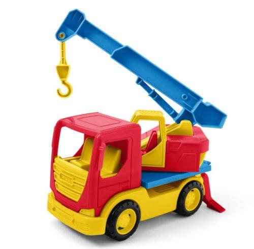Dżwig pojazd autko Wader Tech Truck 35317 26 cm