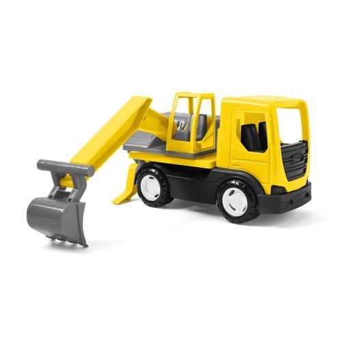 Koparka na samochodzie maszyna budowlana dla dzieci  27cm Wader 35366
