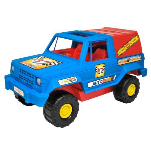 Niebieskie auto terenowe Wader 37091 38cm