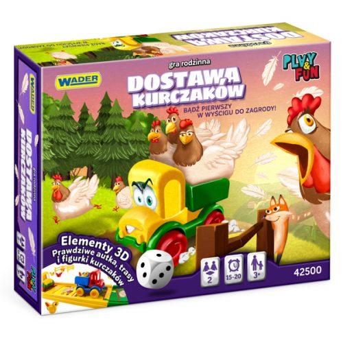 Gra dla dziecka i rodziny Dostawa kurczaków Wader Fun&Play 42500