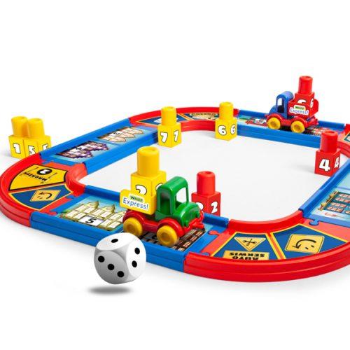 Gra rodzinna pospiesz się kurierze Wader Play&Fun 42501