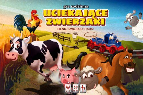 Gra rodzinna Wader uciekające zwierzęta 42502