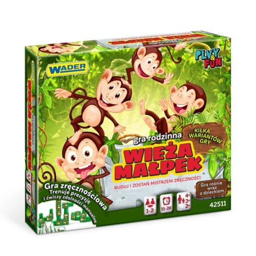 Gra rodzinna wierza małpek Wader 42511
