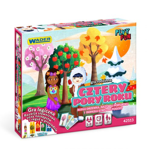 Gra rodzinna cztery pory roku Wader gra 42513