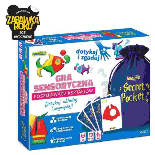 Sensoryczna gra dla dzieci i rodziców poszukiwacz kształtów 42521
