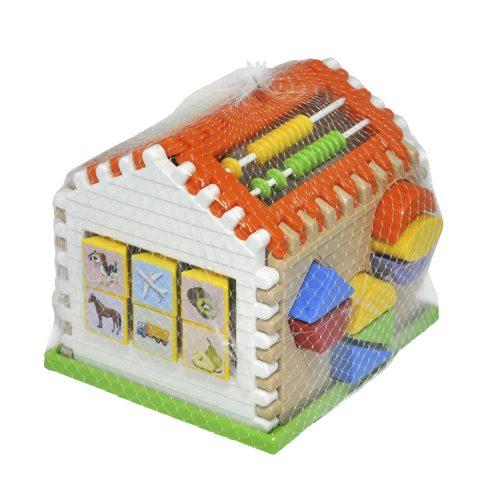 Sorter domek dla dziecka zabawka edukacyjna 21 el Wader 42300