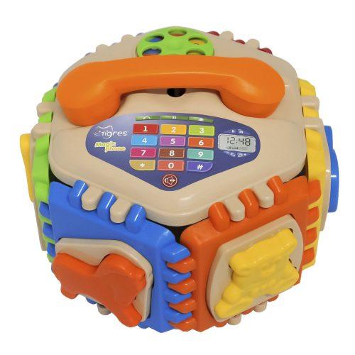 Sorter edukacyjna zabawka dla dziecka telefon Wader 42290
