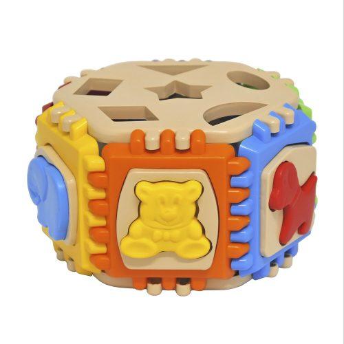Duży sorter zabawka edukacyjna dla dziecka 32 el. Wader 42280